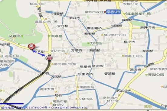 常熟4路公交线路图; 学员公交车线路图;;; 公交线路图